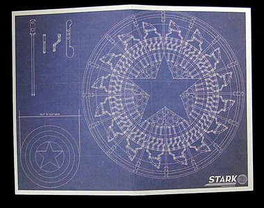 Iron man 2 tony stark arc reactor creation shield blueprints image 1 malvernweather Choice Image