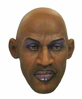 Dennis Rodman - Head w/ Make Up (Small Notch on back of head for Hair to fit into)