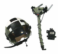 VH: VFA 41 Black Aces Pilot - Helmet w/ Oxygen Mask, etc.