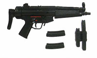 In Toyz: Loose - MP5 Sub Machine Gun w/ Extending Stock