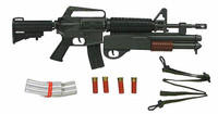 In Toyz: Loose - MX-177 Machine Gun w/ Accessories
