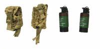 DEVGRU Operation Neptune Spear: Geronimo - Smoke Grenades w/ Pouches (2)