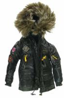 Gangster Kingdom: Spade 5 - Coat w/ Fur Hood