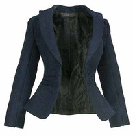 MI6 Female Agent - Blue Jacket
