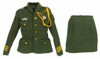 China Female Honor Guard - Green Uniform