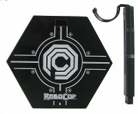 Alex Murphy & Robocop (2 Pack) - Robocop Display Stand