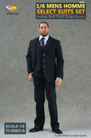 TCT: Homme Select Suits: Striped Black Suit Set A - Boxed Accessory Set (Figure Not Included)