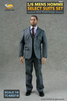 TCT: Homme Select Suits: Striped Grey Suit Set B - Boxed Accessory Set (Figure Not Included)