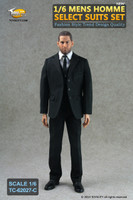 TCT: Homme Select Suits: Solid Black Suit Set C - Boxed Accessory Set (Figure Not Included)