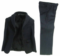 TCT: Homme Select Suits - Pinstriped Black Suit