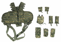 US Army Pilot Aircrew - Tactical Vest w/ Pouches