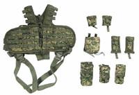 US Army Pilot Aircrew - Tactical Vest w/ Pouches