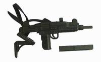 Commando: John Matrix - Uzi Sub Machine Gun