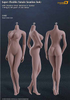 Seamless Female S06B Large Breast: Suntan w/ Metal Structure - Boxed Figure