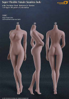 Seamless Female S09C Large Breast (Explicit): Suntan w/ Metal Structure - Boxed Figure