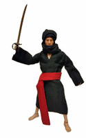 PH Customs: Cairo Thug - Custom Clothing Set C Black (Figure & Sword NOT Included)
