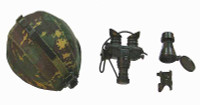 Chinese PLA Special Forces Recon - Helmet w/ Accessories