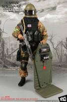 MC: Spetsnaz Officer FSB Alpha Group w/ Assault Shield - Boxed Accessory Set
