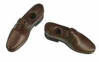 POP Toys: WWII US Army Officer Uniform Sets - Shoes (Ball Socket - NO Joints)