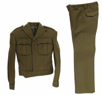 POP Toys: WWII US Army Officer Uniform Sets - Uniform B