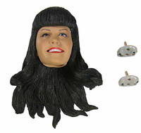 Bettie Page - Head w/ Interchangeable Eyes