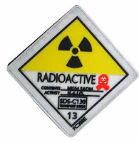 ZERT SDS 13 Halo Nuke Team: Wolf - 1:1 Replica Radioactive Patch