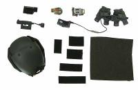 ZERT SDS 13 Halo Nuke Team: Wolf - Helmet w/ Accessories
