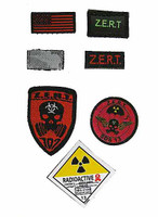 ZERT SDS 13 Halo Nuke Team: Wolf - Patches