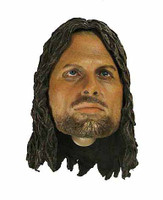 Aragorn (Asmus) - Head w/ Closed Mouth