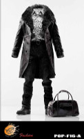 POP Toys: Mafia Leather Outfit - Boxed Accessory Set A (Black)