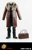 POP Toys: Mafia Leather Outfit - Boxed Accessory Set B (Brown)