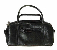 POP Toys: Mafia Leather Outfit Sets - Black Satchel