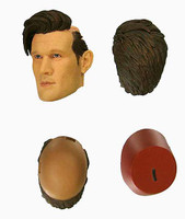 Doctor Who: 11th Doctor (Matt Smith) V2 - Head w/ Swappable Fez (No Neck Joint) (Limit 1)