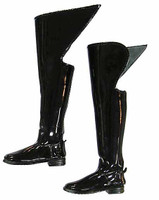 The Life Guards - Tall Pattent Leather Dress Boots (Over Knee)