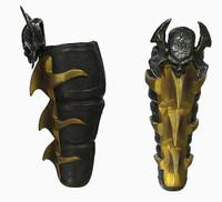 Mortal Kombat: Scorpion - Leg Armor
