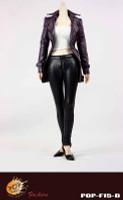 POP Toys: Female Agent Leather Suit - Boxed Accessory Set D (Purple)