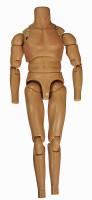 HT Star Wars: A New Hope: Luke Skywalker - Nude Body (No Neck Joint)