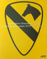 1st Cavalry Division RTO Operation Delaware 1968 (Radioman) - Boxed Figure