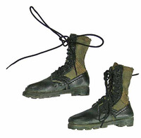1st Cavalry Division RTO Operation Delaware 1968 (Radioman) - Boots (Includes Ball Joint Feet)