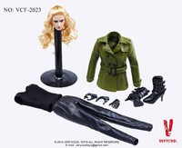Viper Leather Coat - Boxed Accessory Set