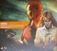 Iron Man 3: Mk 9 & Pepper Potts - Boxed Figure 2 Pack