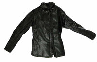 VH: YY Dogshow - Black Leatherlike Jacket