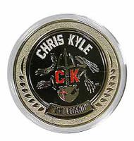 Chris Kyle - 1:1 Collector Coin w/ Plastic Case