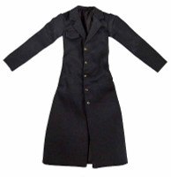 Gangster Girl Agent Set - Black Over Coat