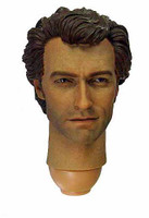 Inspector Harry - Clint Eastwood Dirty Harry Head (with neck joint)