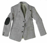 Inspector Harry - Herringbone Grey Jacket