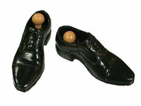 Inspector Harry - Black Dress Shoes w/ Ball Joints