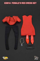 TCT: Female Dresses - Boxed Accessory Set (Red)