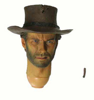 Cowboy G - Head & Cigar w/ Neck Joint