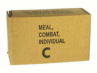 Vietnam C Rations - Empty Carton